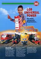 LGB Broschüre (Flyer) 1999 - LGB Universal Power