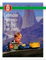 EPL Faltblatt (Flyer) 1995 - Lehmann Fantasy - The Big Fun Train