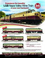 LGB Annonce (Advertisement) Napa Valley Train