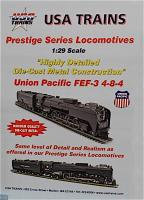 USA Trains FEF (4-8-4) Dampflokomotive (Steam locomotive)