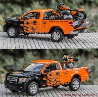 2010 Ford F-150 STX Pickup und 2007 XL 1200N NIGHTSTER