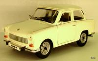Trabant (East German Automobile) 601, cremeweiss/off-white