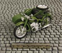 Motorrad mit Beiwagen (Motorcycle with side car) IMZ Ural M 72
