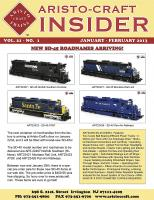 Aristocraft Insider - 2013, Iss. 1 (Jan/Feb)