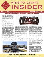 Aristocraft Insider - 2013, Iss. 2 (Mar/Apr)