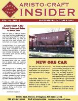 Aristocraft Insider - 2012, Iss. 5 (Sept/Oct)