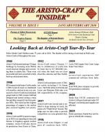 Aristocraft Insider - 2010, Iss. 1 (Jan/Feb)