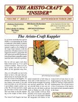 Aristocraft Insider - 2009, Iss. 5 (Sep/Oct)
