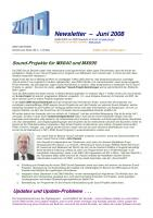 Zimo Newsletter - 2008-06 Juni (Deutsch)