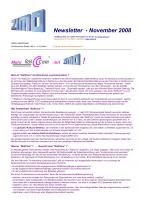 Zimo Newsletter - 2008-11 November (Deutsch)