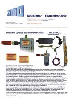 Zimo Newsletter - 2008-09 September (Deutsch)