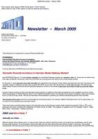 Zimo Newsletter - 2009-03 March (English)