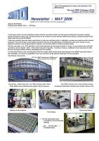 Zimo Newsletter - 2009-05 May (English)