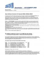 Zimo Newsletter - 2009-11 November (Deutsch)