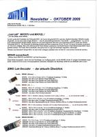 Zimo Newsletter - 2009-10 Oktober (Deutsch)