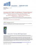 Zimo Newsletter - 2010-02 February (English)