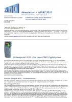 Zimo Newsletter - 2010-03 März (Deutsch)