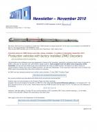 Zimo Newsletter - 2010-11 November (English)