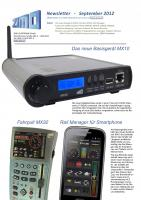 Zimo Newsletter - 2012-09 September (Deutsch)