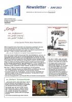 Zimo Newsletter - 2013-06 Juni (Deutsch)