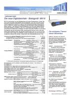 Zimo Newsletter - 2013-10 Oktober (Deutsch)