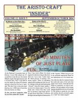 Aristocraft Insider - 2004, Iss. 5 (Sep/Oct)