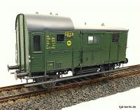 DRG Gepäckwagen (Baggage car) 132 918