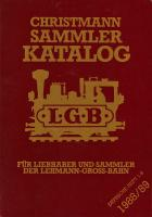 LGB Sammler Katalog (Collector Catalogue) - 1988/89 Christmann