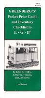 LGB Orientierungspreise (Pocket Price Guide) - 1991 Greenberg