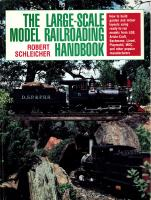 Gartenbahn (Large Scale) Handbook - 1992 The Large Scale Model Railroading Handbook (Hardcover)