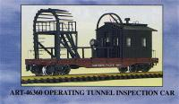 Northern Pacific Tunnel Inspection Wagen (Car) 46401