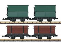 Feldbahn Wagenset (Field railway car set)