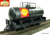Shell Langkesselwagen, schwars (Early tank car, black)