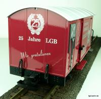Christmann Sammler Katalog Güterwagen Kopfende (Collector catalog box car end panel)