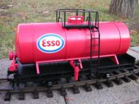 Langkesselwagen (Early Tank car) Esso