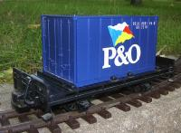P & O Containerwagen (Container car)