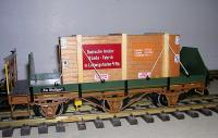 Flachwagen mit adung (Flat car with load)
