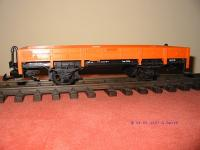 Niederbordwagen Orange