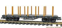 Rungenwagen (Flatcar with stanchions) 99-03-95