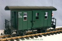 Fakultativwagen grün (Fakultative car, green)