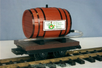 Weinfaßwagen (Wine Barrel car)
