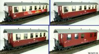 HSB Personenwagen_Set (Passenger car set) KB 900-475