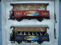 Weihnachtwagenset (Christmas car set)