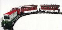 Weihnachts-Personenzug Set (Christmas passenger train set) 2000