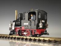 DR Dampflok (Steam locomotive) 99024