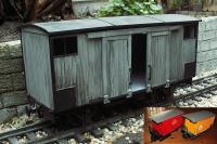 Wagon fourgonnette (Freight car)
