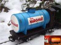 Margnat Wein-Kesselwagen (Tank car for wine)