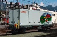 RhB Containertragwagen (Container car) Lb-v 7863