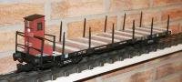 DRG Schienenwagen (Flat car with stanchions) SS 15