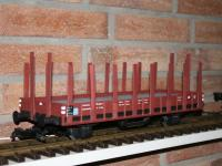 DRG Rungenwagen R Stuttgart / flat car with stanchions